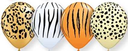 Balloons - Safari Assortment