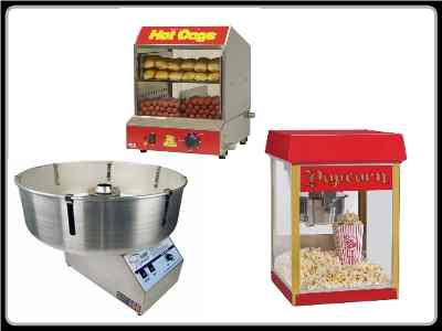 Popcorn and Hot Dog Machine Hire