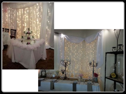 Hire Fairy Light Backdrops