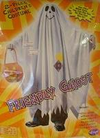Costume Friendly Ghost Child (8-10) Med