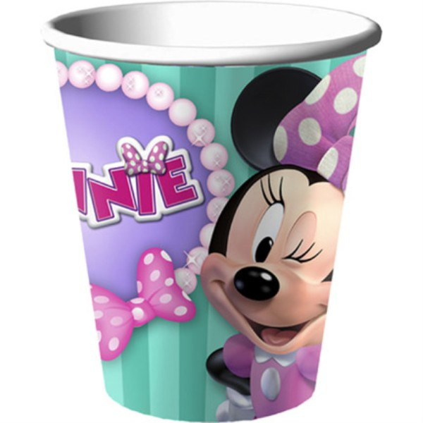 Minnie Dream Party Cups Pk8