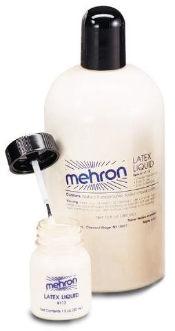 Latex Liquid Mehron 4-1/2 oz (133ml)