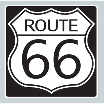 Cutout Route 66 Ea
