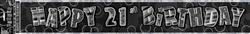 Banner Glitz Black 21 - 3.6M