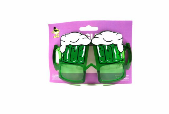 St Patricks Party Glasses Beer