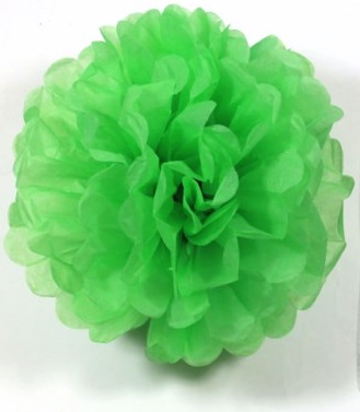 Puff Ball Green 30cm