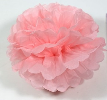 Puff Ball Baby Pink 35cm