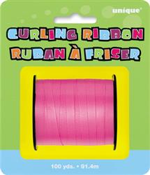 Curling Ribbon Hot Pink 90M