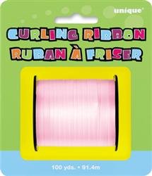 Curling Ribbon Pale Pink 90M
