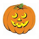 Halloween Cutouts Pumpkin 33cm