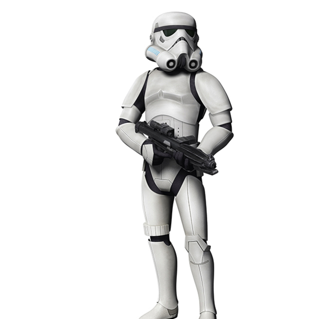 Stand Up Storm Trooper - Hire