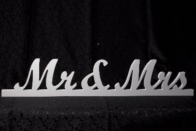 Sign Mr & Mrs - Hire