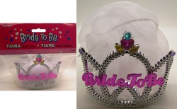 Bride To Be Tiara w Veil