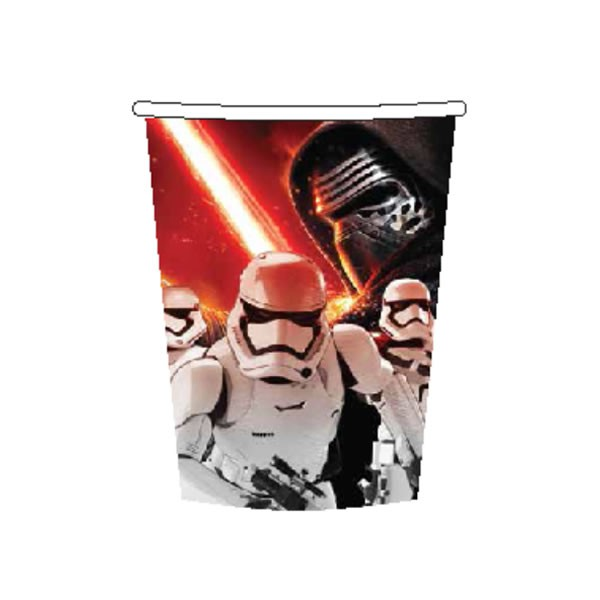 Star Wars Episode 7 Force Awakens Cups Pk8