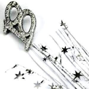 Spangle Foam #18 Silver