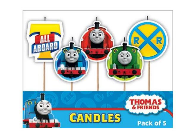 Candles Thomas & Friends set 5