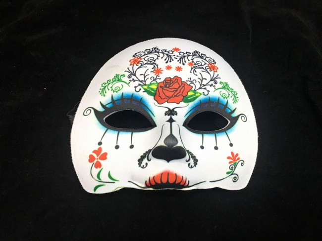Mask Day Of The Dead (half)