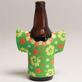 Luau Drink Holder - Shirt Ea