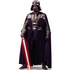 Stand Up Darth Vader Hire